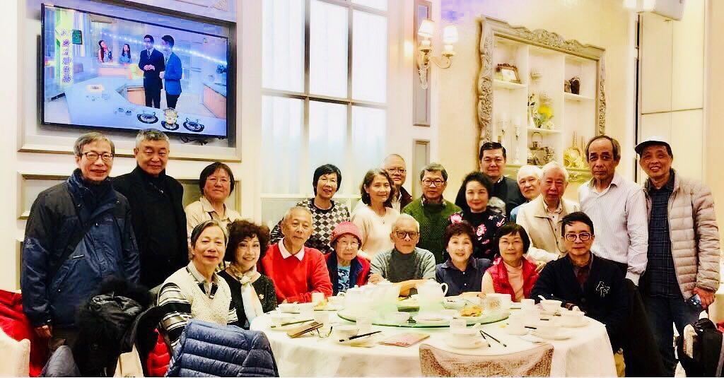 2018 Spring Group Photo in Hong Kong