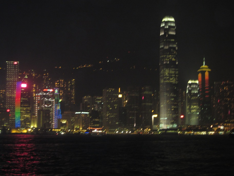 2010 Night Photo of Hong Kong
