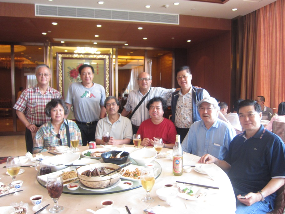 May 3 Zhong Shan Reunion Photos of all attendees
